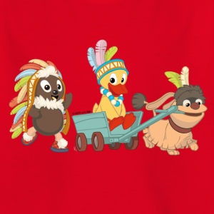 Kinder T-Shirt Pitti, Schnatti & Moppi - Kinder T-Shirt