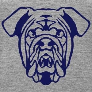 tier hund heftig bulldog 602 Tops - Frauen Premium Tank Top