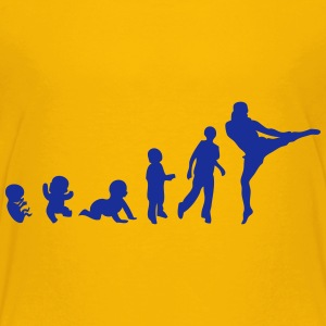 evolution kickbox menschlicher sport T-Shirts - Kinder Premium T-Shirt