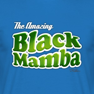 The amazing Black Mamba / Bleu - T-shirt Homme