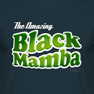 The amazing Black Mamba / Bleu nuit - T-shirt Homme
