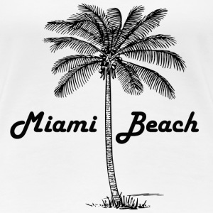 Miami Beach - Women's Premium T-Shirt