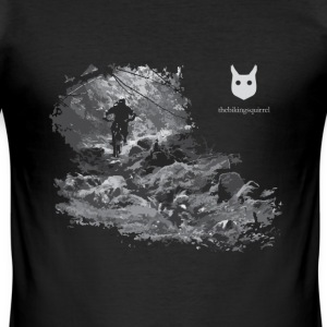 thebikingsquirrel Tee 3 M Slim - Men's Slim Fit T-Shirt