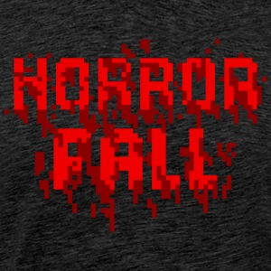 Horror Fall Theme T-Shirt With Game - Men's Premium T-Shirt