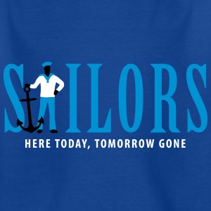 sailors_09_2016_3c02 T-Shirts - Kinder T-Shirt