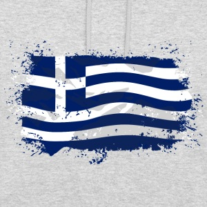 Greece Flag  Pullover & Hoodies - Unisex Hoodie