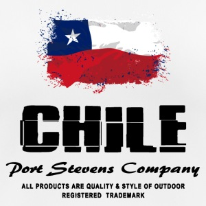 Chile Flag Logo  T-Shirts - Frauen T-Shirt atmungsaktiv
