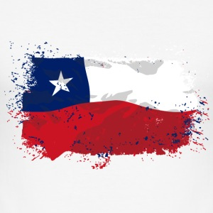 Chile Flag  T-Shirts - Männer Slim Fit T-Shirt