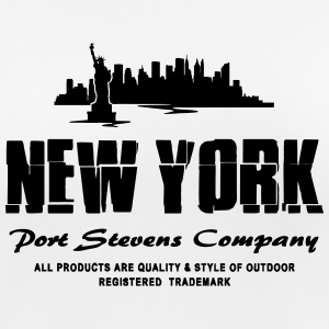 New York Skyline T-Shirts - Frauen T-Shirt atmungsaktiv