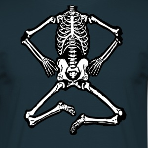 Halloween Skeleton - Men's T-Shirt