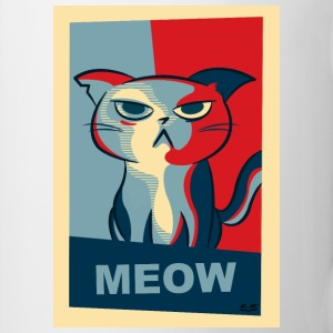 Vote for Meow - Tasse