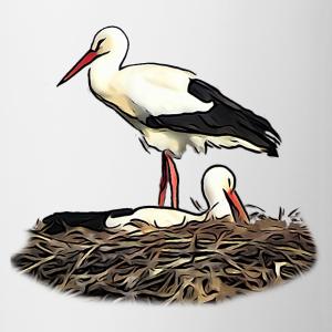 """Shirts mit Tier-Motiv """"Störche im Nest"""""""