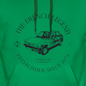 PEUGEOT 104 FRENCH CAR Sweat-shirts - Sweat-shirt à capuche Premium pour hommes