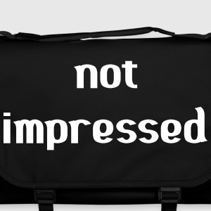 Not Impressed Bags & Backpacks - Shoulder Bag