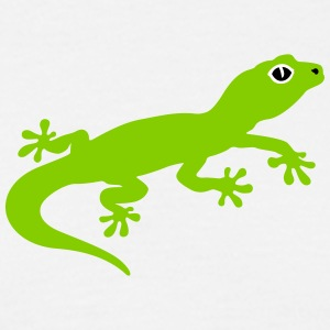 Cute gecko T-Shirts - Men's T-Shirt