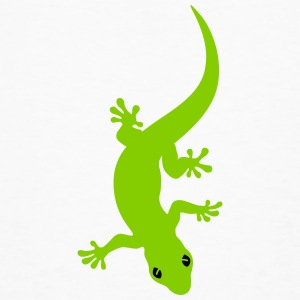 Curved Gecko T-Shirts - Men's Organic T-shirt