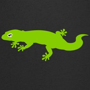 Green Gecko T-Shirts - Men's V-Neck T-Shirt