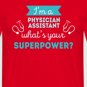 Physician Assistant Superpower Professions T-shirt T-Shirts - Men's T-Shirt