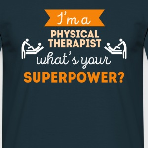 Physical Therapist Superpower Professions T Shirt T-Shirts - Men's T-Shirt