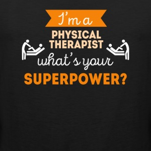 Physical Therapist Superpower Professions T Shirt Sports wear - Men's Premium Tank Top