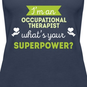 Occupational Therapist Superpower T-shirt Tops - Women's Premium Tank Top