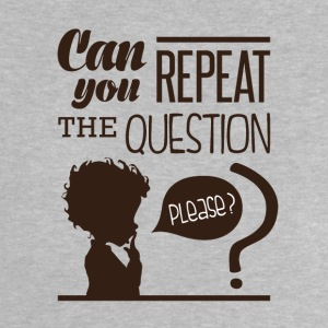Repeat the question - T-shirt Bébé