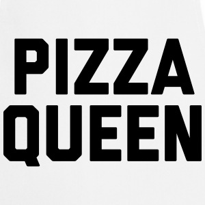 Pizza Queen Funny Quote Kookschorten - Keukenschort