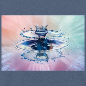 Liquid Art The Power - Männer Premium T-Shirt