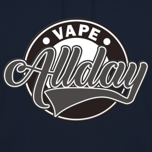 Vape Design Allday  Sweat-shirts - Sweat-shirt à capuche unisexe
