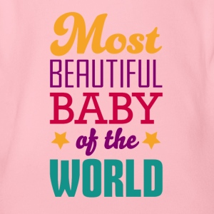 Most beautiful baby - Body bébé bio manches courtes