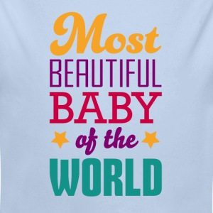 Most beautiful baby - Body bébé bio manches longues
