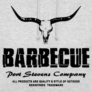 Barbecue - BBQ - Buffalo Skull Pullover & Hoodies - Unisex Hoodie
