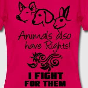 Animals have Rights T-Shirts - Women's T-Shirt