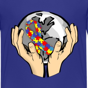Autism Awareness World T-Shirts - Kinder Premium T-Shirt