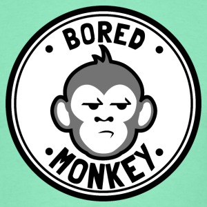 Bored Monkey - Männer T-Shirt