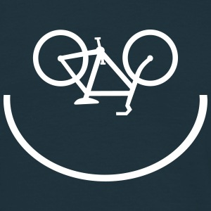 Bicycle Smiley - Männer T-Shirt