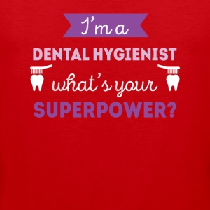 Dental Hygienist Superpower Professions T Shirt Sports wear - Men's Premium Tank Top