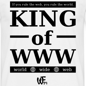 King of WWW T-Shirts - Männer T-Shirt