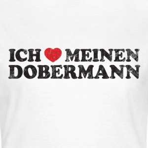 Mein Dobermann T-Shirts - Frauen T-Shirt
