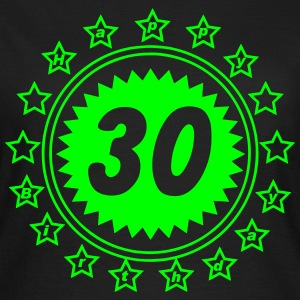 30 Happy Birthday Sterne T-Shirts - Frauen T-Shirt