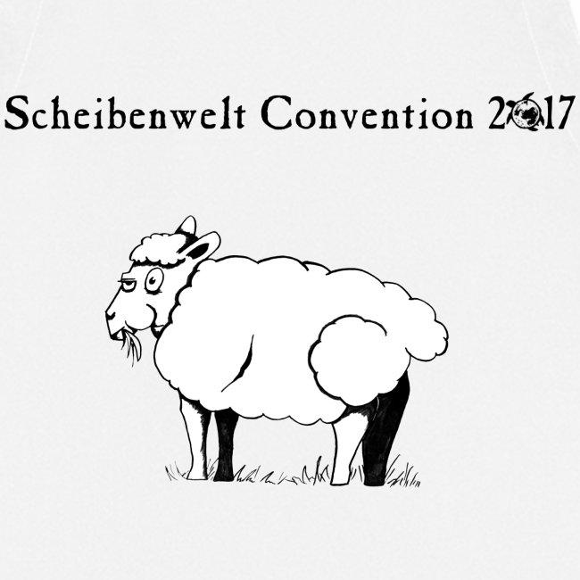 Scheibenwelt Convention 2017 Schürze Motiv Schaf