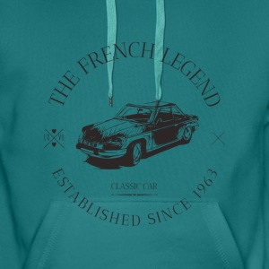 PANHARD 24 CT FRENCH CAR Sweat-shirts - Sweat-shirt à capuche Premium pour hommes