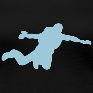 sport base jumping T-Shirts - Frauen Premium T-Shirt