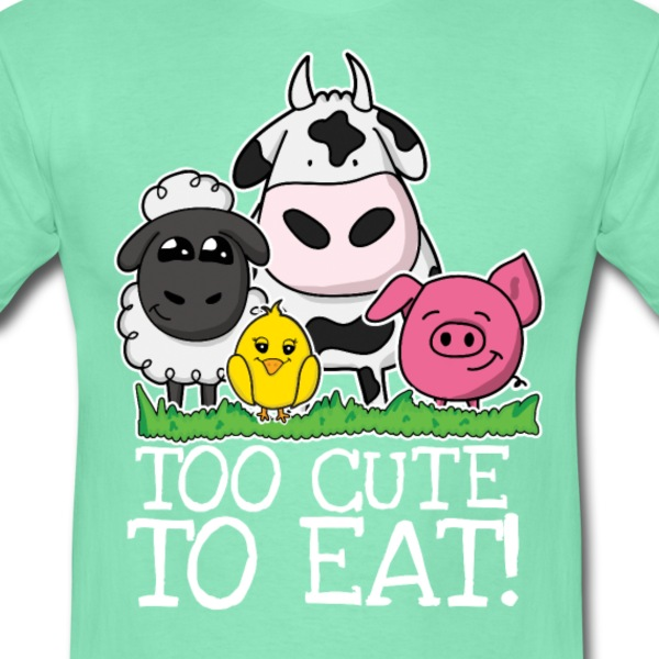 Too cute to eat - Männer T-Shirt