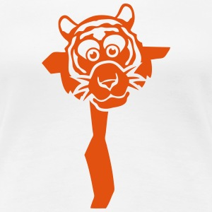 tiger brief zeichnung 511_t T-Shirts - Frauen Premium T-Shirt