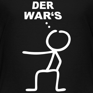 Strichmännchen Der wars T-Shirts - Teenager Premium T-Shirt