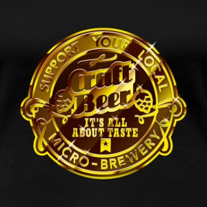 Craft Beer T-Shirts - Frauen Premium T-Shirt