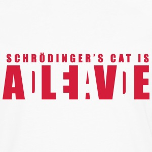Geek Shirt: Schrödinger's Cat Long sleeve shirts - Men's Premium Longsleeve Shirt