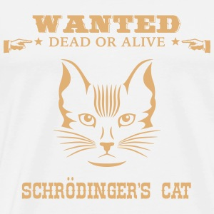 Awesome Geek Shirt: Schrödinger's Cat T-Shirts - Men's Premium T-Shirt