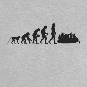Rafting Evolution Baby Shirts  - Baby T-Shirt